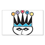 jester.png Sticker (Rectangle 10 pk)