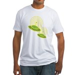 saucers.png Fitted T-Shirt