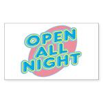 text_open.png Sticker (Rectangle 10 pk)
