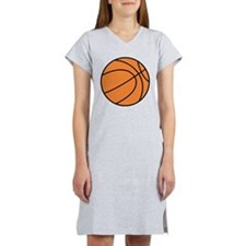 basketball belly.png Women's Nightshirt