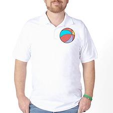 beach ball belly.png T-Shirt