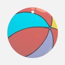 beach ball belly.png Ornament (Round)