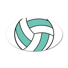 volleyball belly.png Wall Decal