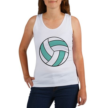 volleyball belly.png Women's Tank Top
