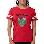 Beer Frame Womens Football Shirt