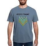 Beer Frame Mens Comfort Colors Shirt