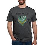 Beer Frame Mens Tri-blend T-Shirt
