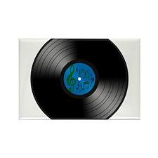 Vinyl L.P. Rectangle Magnet