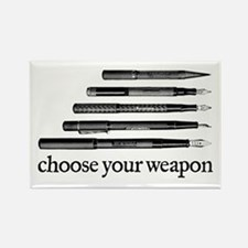 Choose Your Weapon Rectangle Magnet
