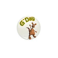 gday kangaroo copy.jpg Mini Button (10 pack)