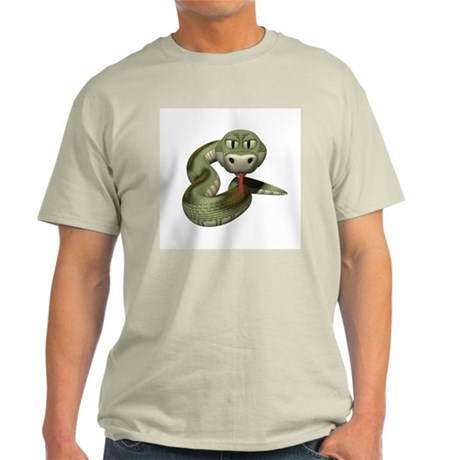 green snake copy.jpg Light T-Shirt