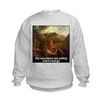 Mountains Calling Kids Sweatshirt