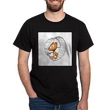 hamster in wheel copy.jpg T-Shirt