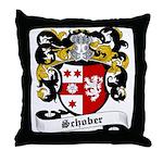 Schober Coat of Arms Throw Pillow