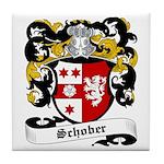 Schober Coat of Arms Tile Coaster