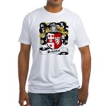 Schober Coat of Arms Fitted T-Shirt