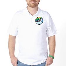 orca killer whale circle design copy.jpg T-Shirt