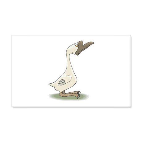 silly goose copy.jpg 20x12 Wall Decal