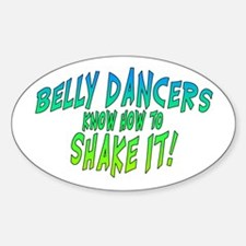 Shake it! Oval Decal