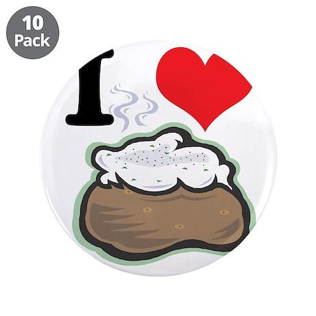 "baked potato.jpg 3.5"" Button (10 pack)"