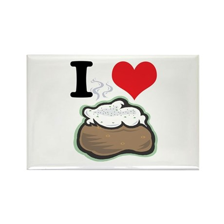baked potato.jpg Rectangle Magnet (10 pack)