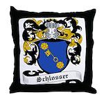 Schlosser Coat of Arms Throw Pillow