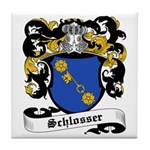 Schlosser Coat of Arms Tile Coaster
