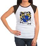Schlosser Coat of Arms Women's Cap Sleeve T-Shirt