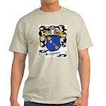 Schlosser Coat of Arms Ash Grey T-Shirt