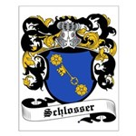 Schlosser Coat of Arms Small Poster