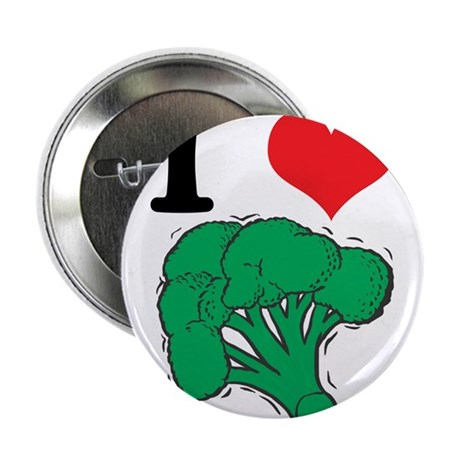"3-broccoli.jpg 2.25"" Button (100 pack)"