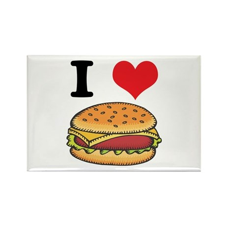cheeseburgers.jpg Rectangle Magnet (100 pack)