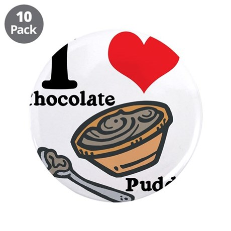"""chocolate pudding.jpg 3.5"""" Button (10 pack)"""