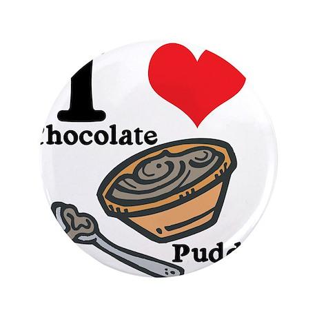 "chocolate pudding.jpg 3.5"" Button"