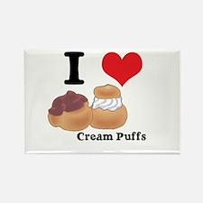 cream puffs.jpg Rectangle Magnet (100 pack)