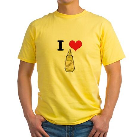 mustard.jpg Yellow T-Shirt