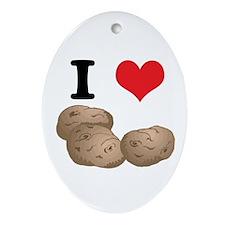 potatoes.jpg Ornament (Oval)