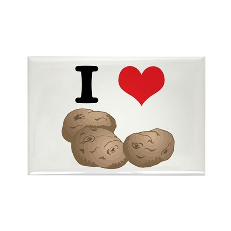 potatoes.jpg Rectangle Magnet (100 pack)