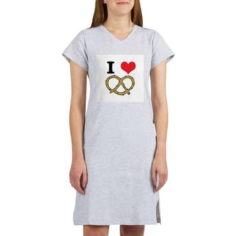 soft pretzels.jpg Women's Nightshirt