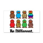 Be Different Ducks.png 20x12 Wall Decal