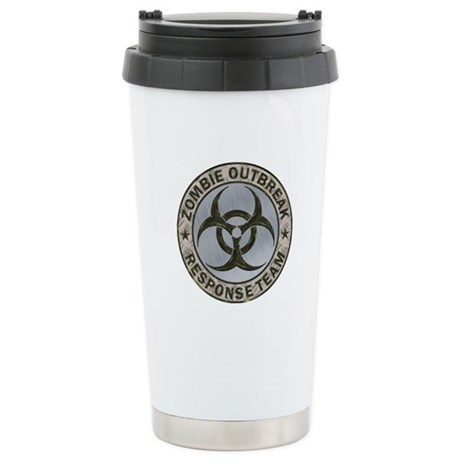 Zombie Response Team Color Stainless Steel Travel