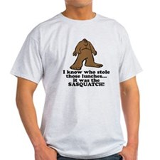 sasquatch stole lunches.png T-Shirt