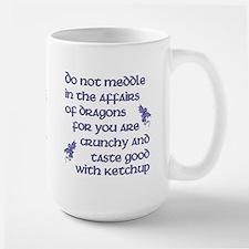 Affairs of Dragons (English) Large Mug