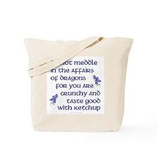 Affairs of Dragons (English) Tote Bag