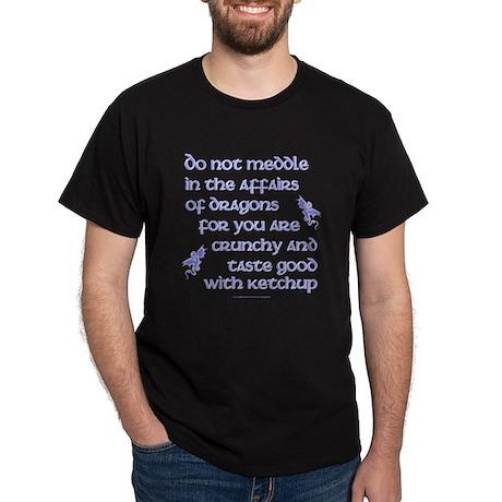 Affairs of Dragons (English) Dark T-Shirt