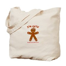 GINGERBREAD GIRL Tote Bag