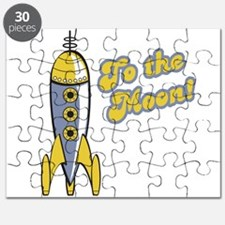 to the moon retro space rocket.png Puzzle
