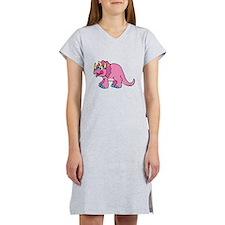 pink triceratops.png Women's Nightshirt