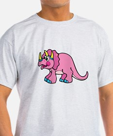 pink triceratops.png T-Shirt