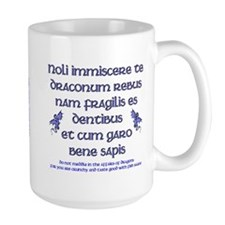 Affairs of Dragons (Latin) Mug